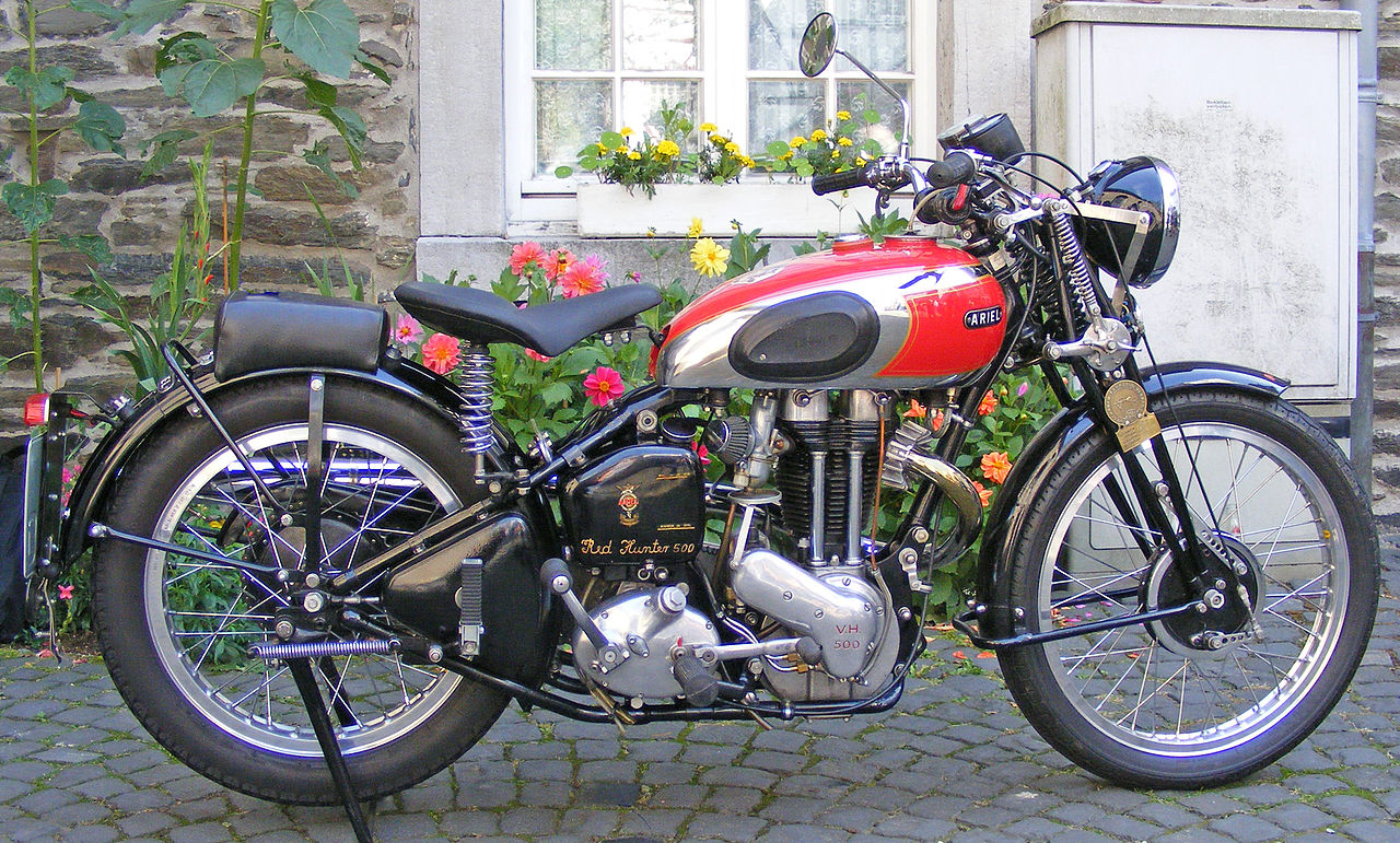 Pre-War British motorcycle valuation: 1939 Ariel Red Hunter