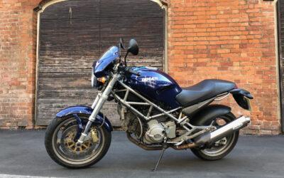 I bought a 2005 Ducati Monster 800 S i.e.